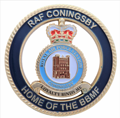 RAF Coningsby - Home Of The Battle of Britain Memorial Flight BBMF Celebration Coin